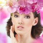 Flower girl — Stock Photo #2991744