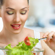 Eating healthy food — Stock Photo #3424702