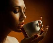 Aromatic coffee — Stock Photo