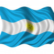 Flag of Argentina - Foto de Stock