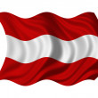 Flag of Austria - Foto de Stock