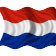 Flag of Holland — Stock Photo