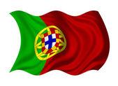 Flag of Portugl — Stock Photo