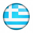 Icon with flag of Greece — Stock Photo