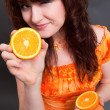 Orange mood — Stock Photo