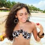 Beach bikini — Stock Photo #2994548