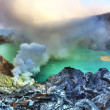 Stock Photo: Crater Ijen