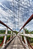 Suspended bridge — Stock Photo