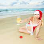 Sexy Santa — Stock Photo