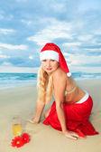 Tropische kerstmis — Stockfoto