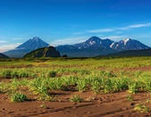Mountain landscape, Kamchatka — Stock Photo