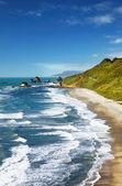 Coastal view, New Zealand — Stock Photo