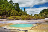 Wai-O-Tapu thermal area, New Zealand — Stock Photo