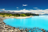Lake Pukaki, New Zealand — Stock Photo