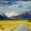 Southern Alps, New Zealand — Stockfoto