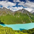 Mountain lake - Stock Photo