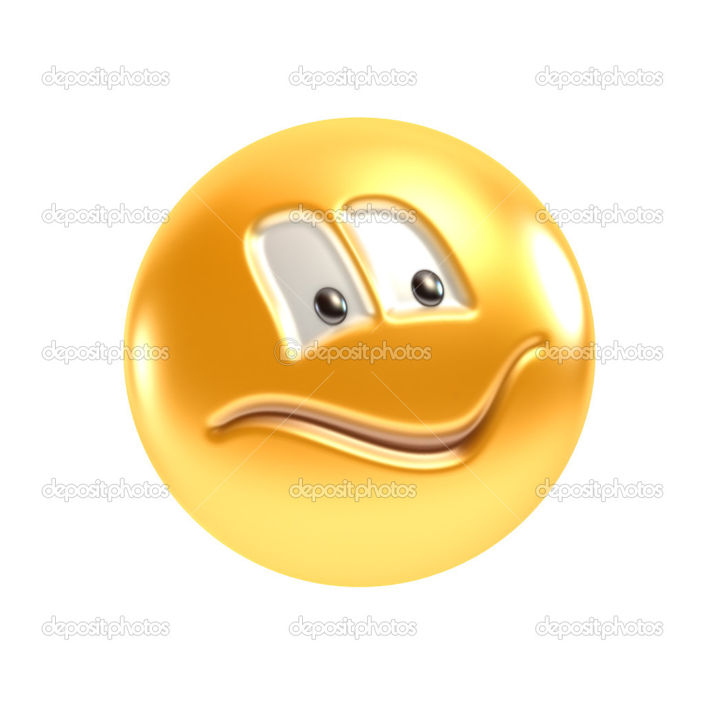 Isolated symbolic smiling face 3d rendering — Stock Photo #2719139
