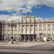 Royalty-Free Stock Photo: Palace Real de Madrid, Spain