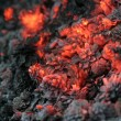 Smolder coals - Stock Photo