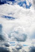 Niebo z chmur — Zdjęcie stockowe