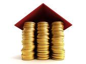 按揭贷款概念 — 图库照片