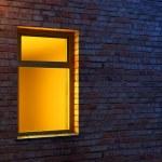 Illuminated window — Stock Photo #3249316