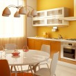 Foto Stock: Modern kitchen interior