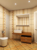 Bathroom interior — Stockfoto