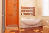Orange und interieur — Stockfoto