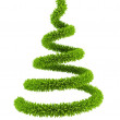 3d symbolic New Year's tree — Stock Photo
