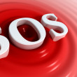 Stock Photo: SOS symbol