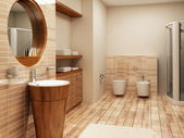 Bathroom interior — Foto Stock