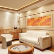 Stock Photo: Lounge room interior