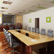 3D render of the conference hall - Stock Photo