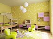 Children's room interior — Foto Stock