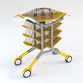 Handcart 3d rendering — Stock Photo
