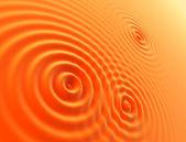 Oranges waves — Stock Photo