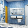 Bathroom interior — Stockfoto #3406099