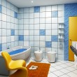 Bathroom interior — Stock Photo #3406103
