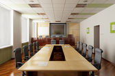3D render of the conference hall — Stock Photo