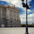 Stock Photo: Palace Real de Madrid, Spain