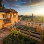 Alhambra palace, Granada, Spain — Stock Photo #3596868