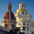 Стоковое фото: City scape of Valencia, Spain