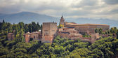 Alhambra palace in Granada, Spain. — Stock Photo