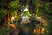 Alhambra garden, Granada, Spain — Stock Photo