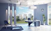 近代的なオフィス インテリア — ストック写真