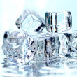 Melting ice cubes — Stock Photo #2998766