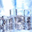 Melting ice cubes — Stock Photo #2998852