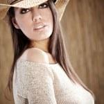 Beautiful Sexy Cowgirl — Stock Photo #3172652
