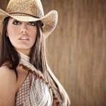 Beautiful Sexy Cowgirl — Stock Photo #3172700